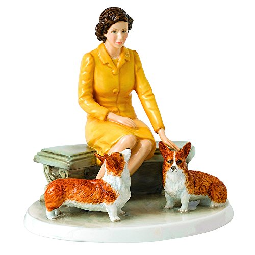Royal Doulton Her Majesty At Home Figurine, 6.3