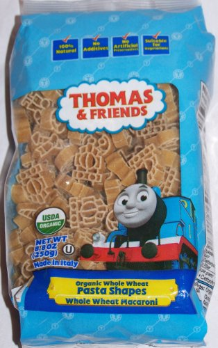 Thomas & Friends Pasta Shapes Whole Wheat Macaroni