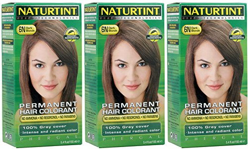 - Naturtint - Hair Dye - 6N Dark Blonde | 135ml | BUNDLE by Naturtint
