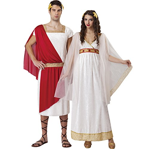 Totally Ghoul Men's Greek God Costume, One Size Fits Most (Costume Greece)