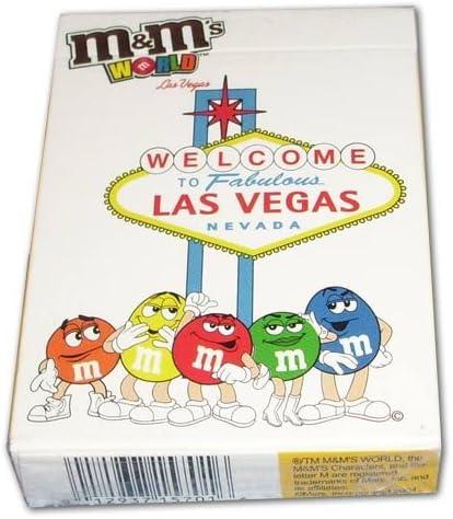 M/&Ms World Las Vegas Playing Cards