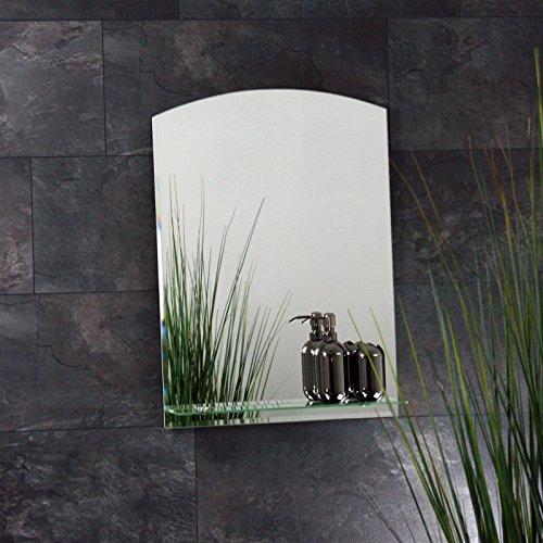 Badspiegel mit Ablage 70 x 50 cm