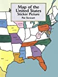 Map of the United States Sticker Picture (Dover Sticker Books)
