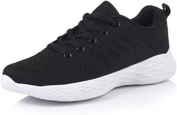 Hombre Mujer Zapatillas Running Trail Fitness Zapatos Deporte para Correr Sneakers Ligero Transpirable: Amazon.es: Zapatos y complementos