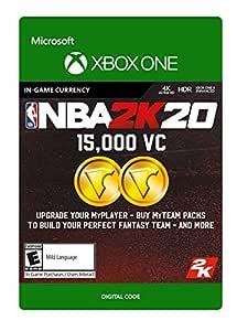 Amazon.com: NBA 2K20: 15,000 VC 15,000 VC - [Xbox One