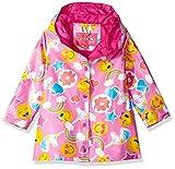 #4: Wippette Girls' Matte Emoji Rain Jacket