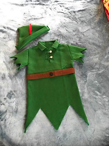 """PETER PAN"" Infant Elf Shirt & Hat Set"
