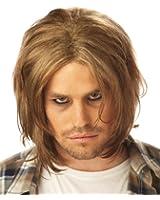 Unisex Grunge Wig in Dirty Blonde - Adult Std.
