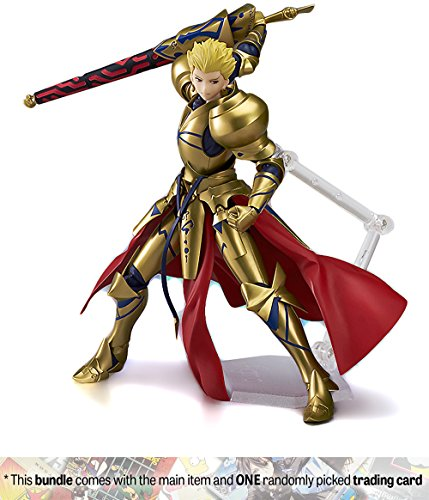 Archer-Gilgamesh-63-FateGrand-Order-x-Max-Factory-figma-Action-Figure-300-1-Anime-Themed-Trading-Card-Bundle