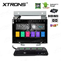 XTRONS HDMI Android 7.1 Quad Core 7 Inch HD Digital Touch Screen Car Stereo Radio Player GPS TPMS OBD2 Sreen Mirroring for Land Rover