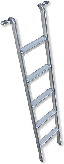 Vecam - Escalera para caravana de aluminio, 150 x 29 cm, con ganchos: Amazon.es: Jardín