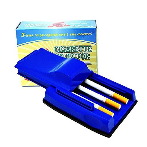 Triple Manual Cigarette Injector, 3 Tube Efficient Cigarette Maker, Tobacco Injector Machine