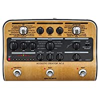 Zoom AC-3 Acoustic Guitar Creator (Brown) 13