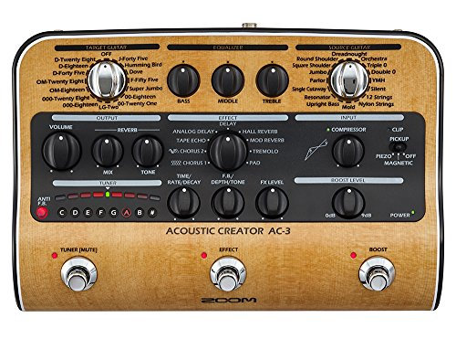 Zoom AC-3 Acoustic