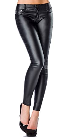 1001-kleine-Sachen at Wetlook-Stretchhose Miss Disco mit Strasssteinen  Stretch-Hose in Lederoptik Damen Leggings XS-XL (32-42)  Amazon.de   Bekleidung 1df0325685