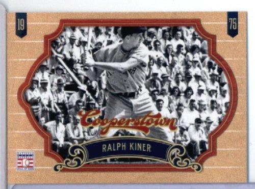 2012 Panini Cooperstown Baseball Card # 98 Ralph Kiner