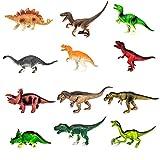 I Like Dinosaurs 12 Pack of Realistic Jumbo Sized 8