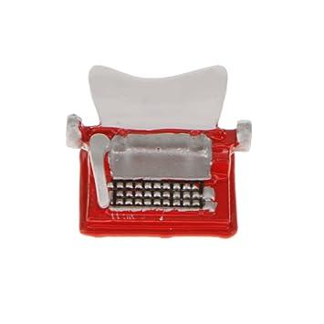 Amazon.es: MagiDeal Juguetes Minituras de Casa de Muñecas Máquina de Escribir: Juguetes y juegos