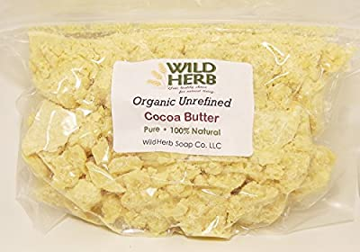 Cocoa Butter Organic by Wild Herb Soap Co