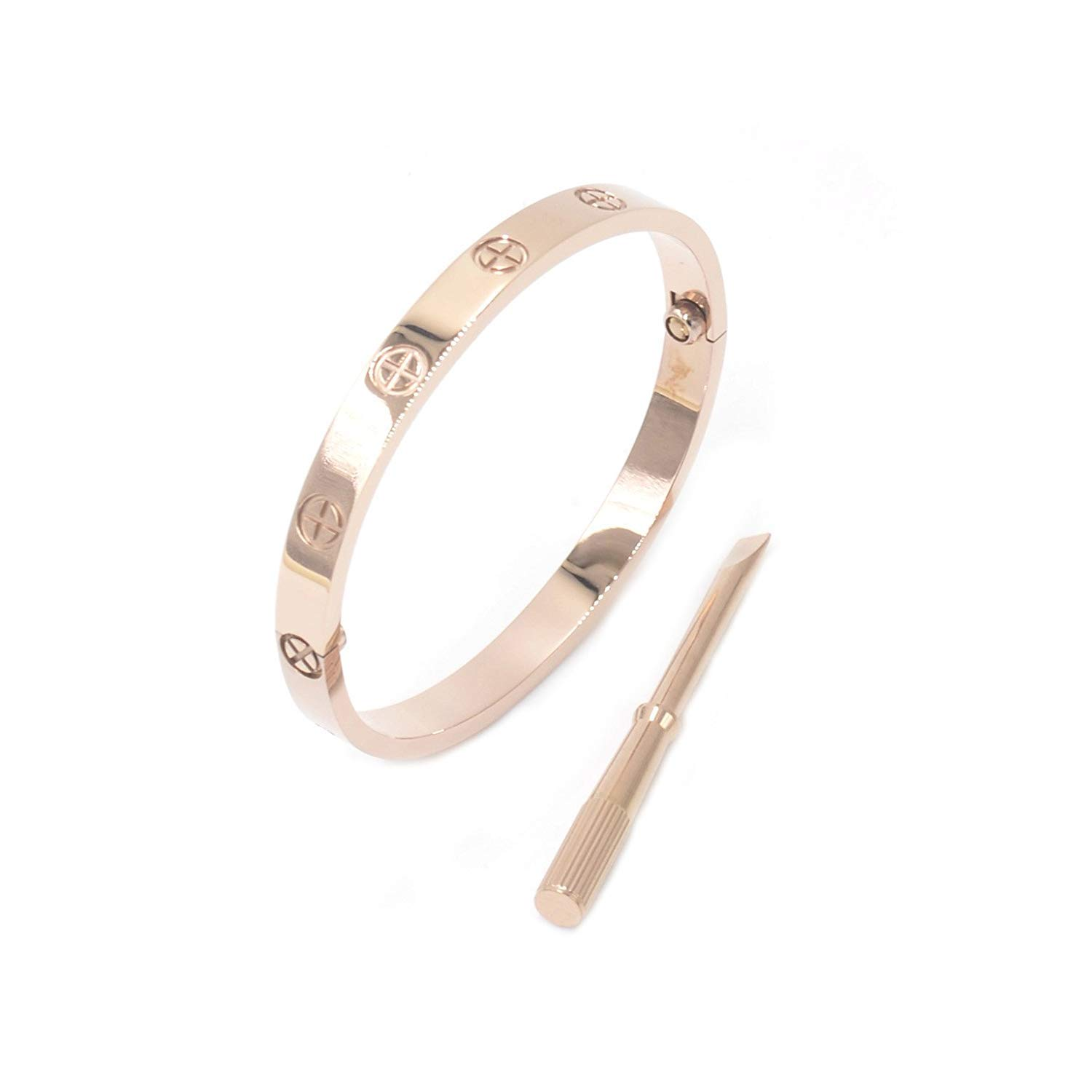 Fire Ants Love Bracelet-Only I Can Unlock Your Heart with Rose Gold//Silver//Gold
