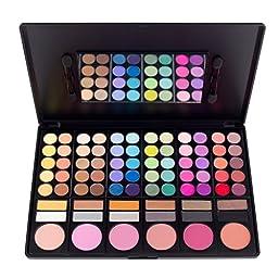 Coastal Scents 78 Color Shadow Blush Palette (PL-003)