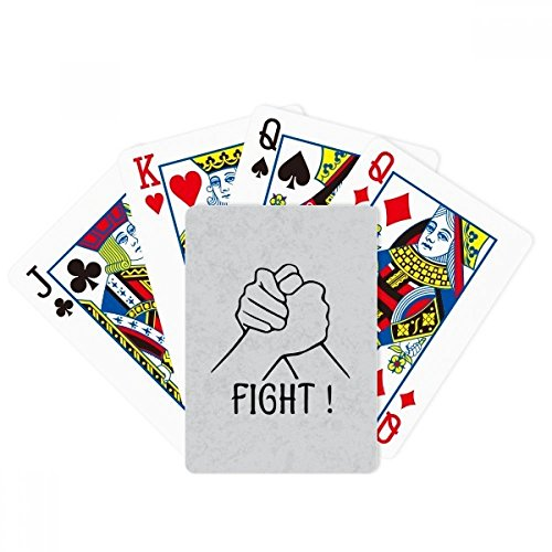 beatChong Wrist Wrestling Personalized Gesture Poker Playing Card Tabletop Board Game Gift by beatChong