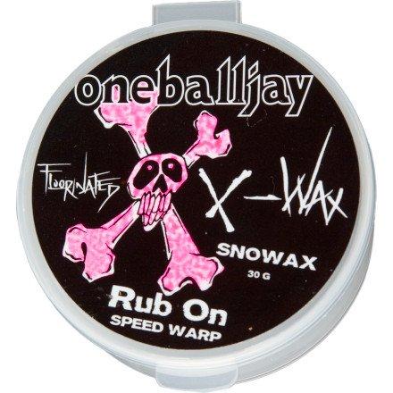 OneBallJay X-Wax Rub-On Wax All Temp, 30g