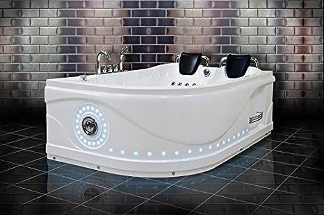 Vasca Da Bagno Con Pannelli : Whirlpool vasca da bagno venezia 761 left side corner luxury