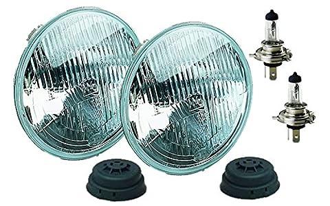 HELLA 002395801 Vision Plus 165mm 12V High/Low Beam Halogen Conversion Headlamp Kit (H4 ECE) - Hella Xenon Headlights
