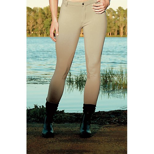 Devon-Aire Women's Versailles Lo-Rise Breech, Purple, Regular/Medium