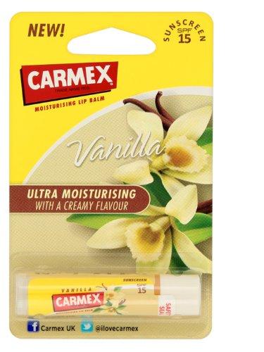 Carmex Moisturising Lip Balm SPF 15 - Vanilla