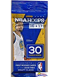 2016/2017 Panini Hoops NBA Basketball HUGE Factory Sealed JUMBO FAT PACK with 30 Cards Including 4 ROOKIES & 2 INSERTS! Look for RC & Autographs of Brandon Ingram, Kris Dunn, Ben Simmons & Many More!