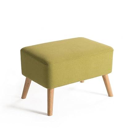 Amazon.com: Barstools LHA Rectangular Wooden Sofa Stool ...