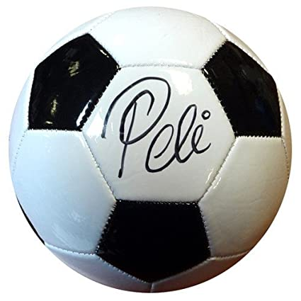 Image Unavailable. Image not available for. Color  Pele Signed Franklin Soccer  Ball Brazil ... 68b0ab233