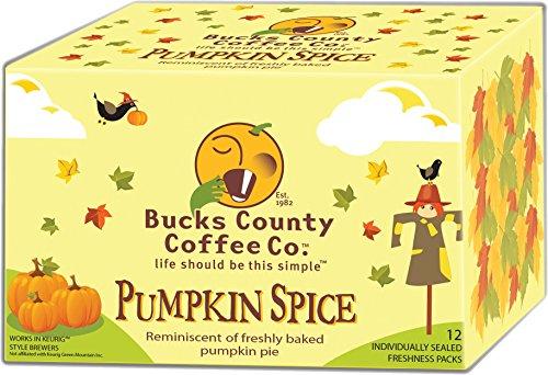 Bucks County Coffee Co. - Pumpkin Spice SS 12cnt