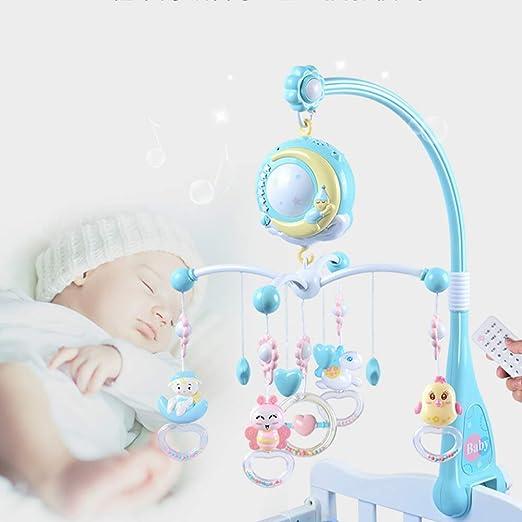 Mobile Bettglocke mit 12 St/ück s/ü/ße Melodien Babybett Bett h/ängende Musikglocke f/ür schlafende elektrische Spieluhr f/ür Kleinkinder
