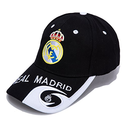 fdfd5dc7e29 DanielFelix Real Madrid F.C. -Embroidered Authentic EPL Adjustable Black Baseball  Cap