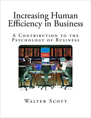 4a489e6d7881d Increasing Human Efficiency in Business: A Contribution to the ...