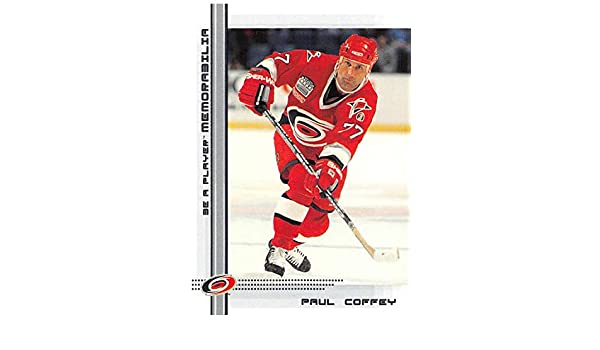 Amazon.com  2000-01 Be A Player Memorablia Hockey  221 Paul Coffey Carolina  Hurricanes Official Trading Card From ITG In The Game  Collectibles   Fine  Art 7df945c0a