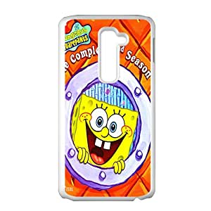 SpongeBob Case Cover For LG G2 Case