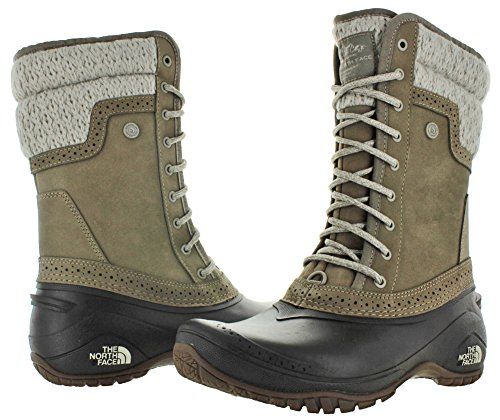 The North Face Shellista II Mid Mujer Ante Bota de Nieve