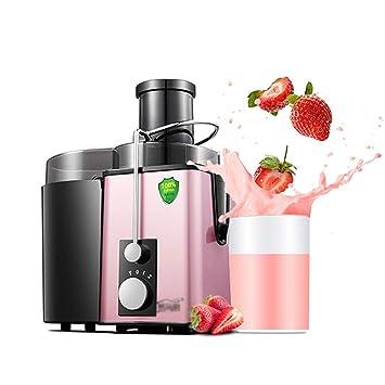 Extractor de Jugo Exprimidor de Fruta Entera con Boca Ancha de 65 mm Juicer de Potencia centrífuga Exprimidor para Frutas y Verduras 2 velocidades: Amazon. ...