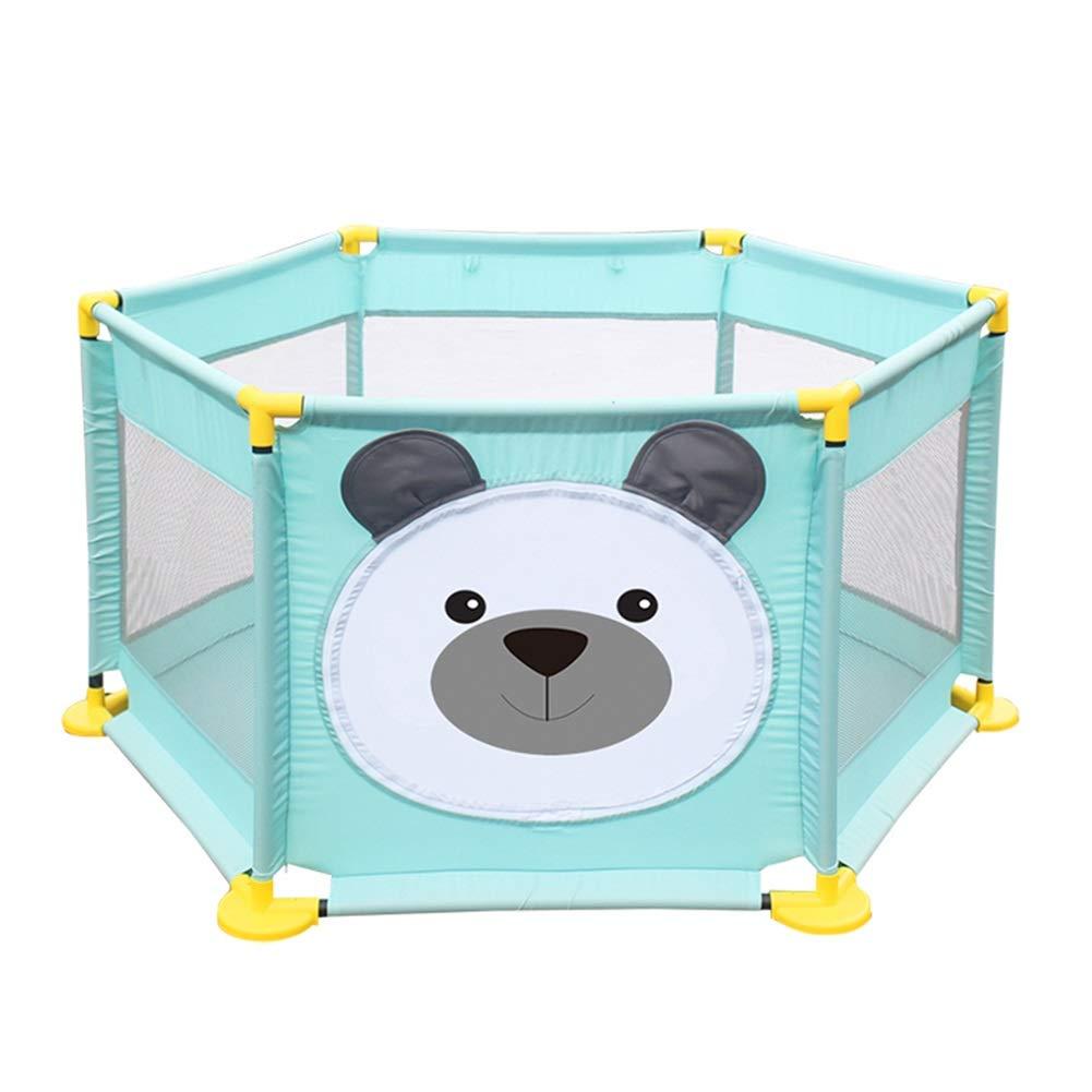【返品交換不可】 ベビーサークル, B07JFBTN7Q - ポータブルプラスチック製ベビープレイペン、幼児のための6パネル安全プレイヤード、アンチロールオーバーキッズのゲームのフェンス - 65センチメートルの高さ B07JFBTN7Q, 春先取りの:b22834cf --- a0267596.xsph.ru