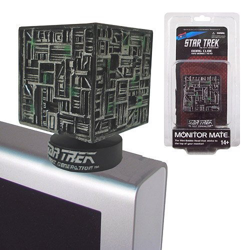 Bif Bang Pow! Star Trek Borg Cube Monitor Mate