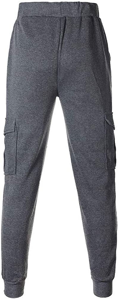 Ms lily Casual Jogger Pants Sport Baggy Sweatpants Dark Gray-X-Large