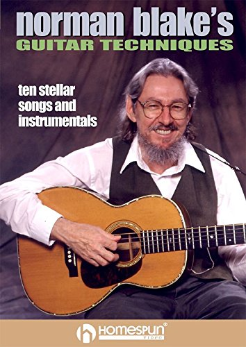 Norman Blake's Guitar Techniques Vol 2 - Ten Stellar Songs and Instrumentals [Instant Access]