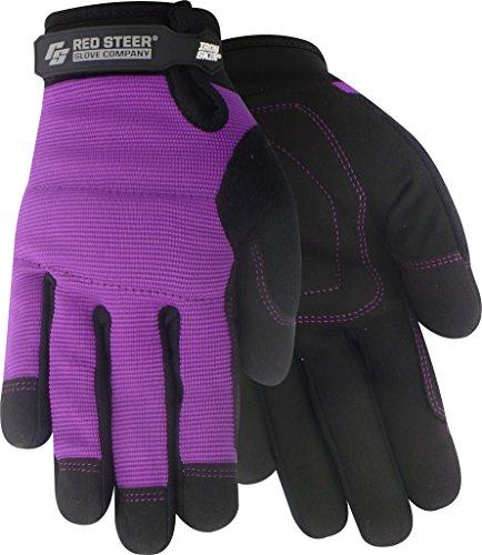 Red Steer 159-M Ironskin Women's General Utility Glove [Price is per Pair] (Medium) General Utility Glove