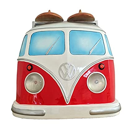 Buy Volkswagen VW Samba Bus Front End Wall Decor (Working Lights ...