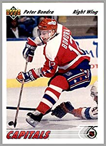 1991-92 Upper Deck #131 Peter Bondra Bonzai WASHINGTON CAPITALS CAPS