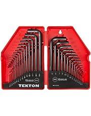 TEKTON Hex Key Wrench Set, 30-Piece (.028-3/8 in., .7-10 mm) | 25253